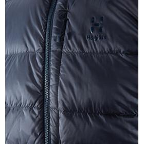 Haglöfs Essens Manteau en duvet Homme, dense blue/tarn blue